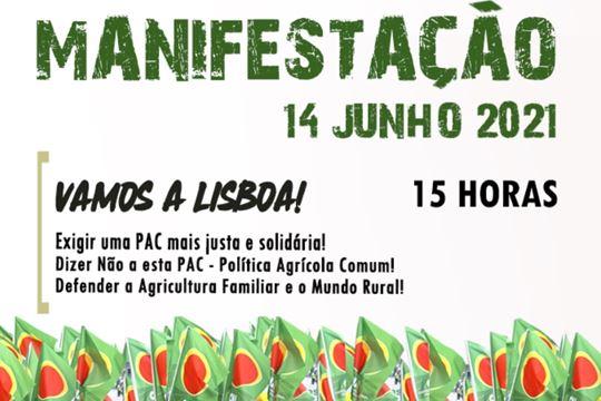 Manifestação por uma PAC mais justa e solidária! Defender a Agricultura Familiar e o Mundo Rural!