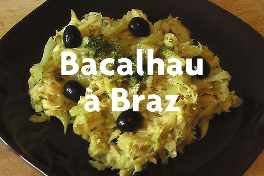 Receita de Bacalhau à Brás