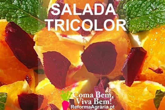 Receita: Salada Tricolor