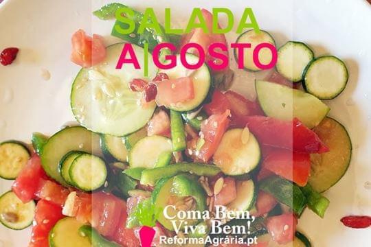 Receita: Salada de Agosto