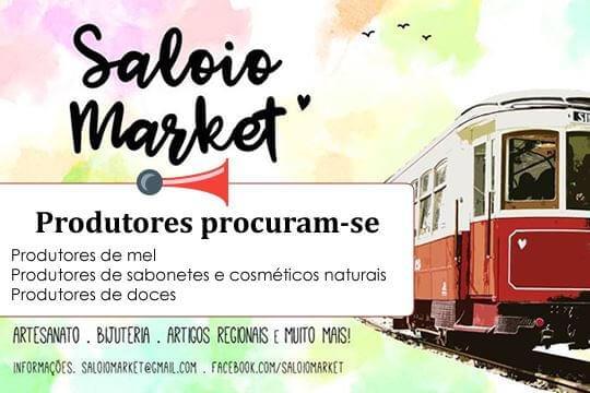 O Saloio Market (Sintra) procura produtores