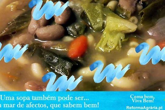 A Sopa de Feijão da vizinha é bem melhor do que a minha!