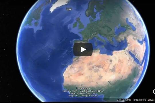Uma viagem (virtual) TENEBROSA às Estufas de  Almería - Espanha