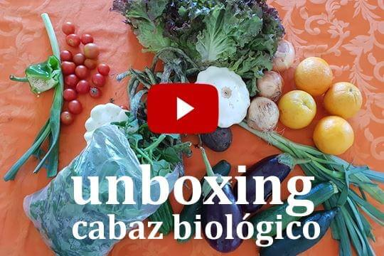Unboxing:  Cabaz Biológico do produtor Bio Habitus (vídeo)