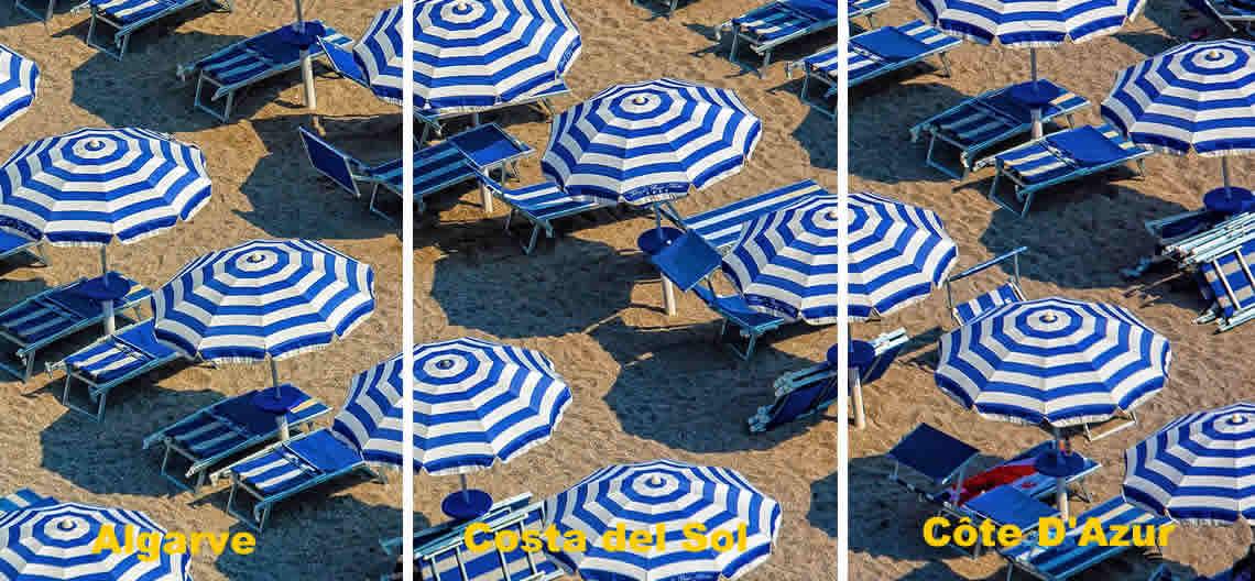 Algarve, Costa del Sol ou Côte d'Azur?