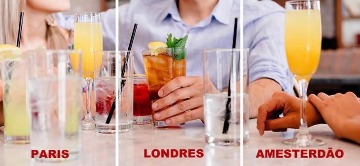 O que há assim de tão diferente entre Londres, Paris ou Amesterdão