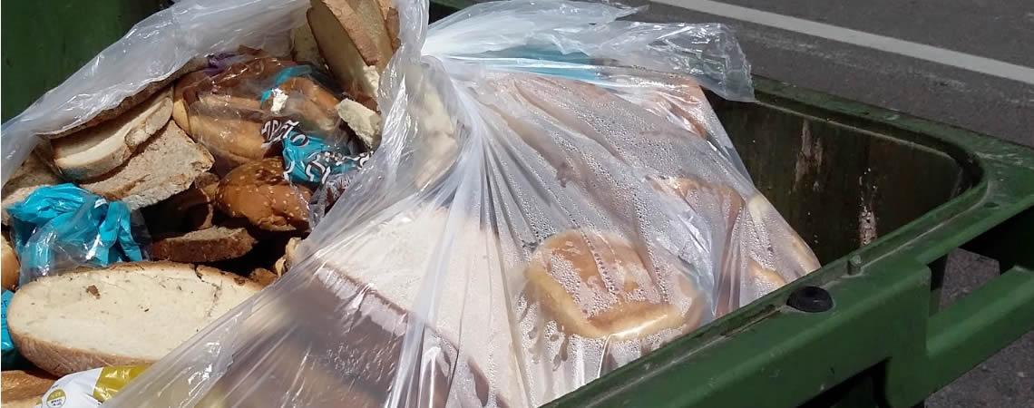 Todos os dias são desperdiçadas toneladas de restos alimentares.