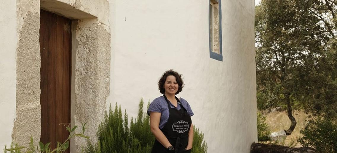 Teresa barrocas, Formadora do Workshop - Como fazer farinha de bolota