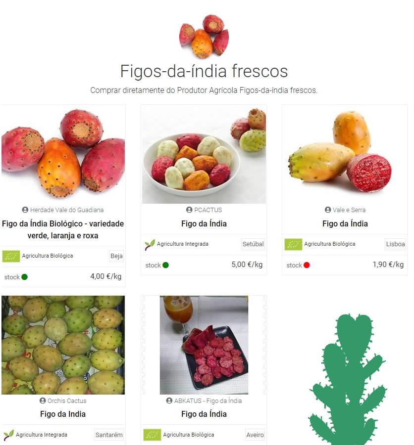 Comprar figos da índia| Reforma Agrária