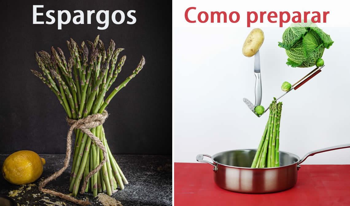 Saiba como preparar os espargos | Reforma Agrária