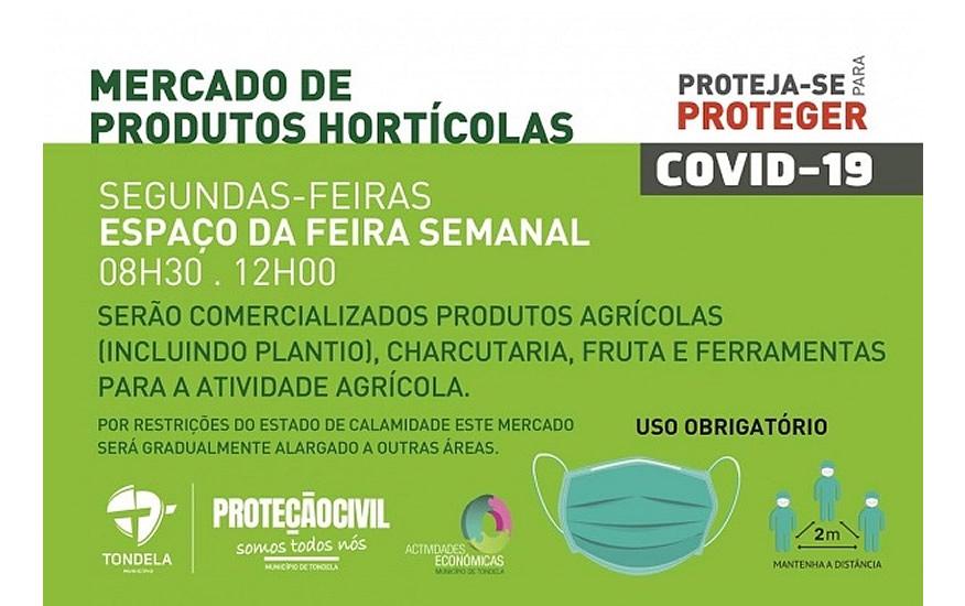Reabertura do Mercado de Produtos Hortícolas | Tondela - Viseu