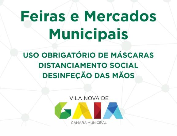 Datas de Reabertura das Feiras - Município de Gaia| Reforma Agrária