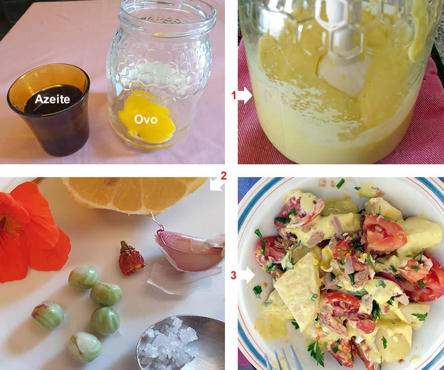 A Maionese caseira é rápida e fácil de preparar. Aprenda a fazer uma maionese com azeite e ovos, passo-a-passo.| Reforma Agrária