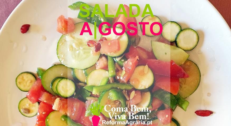 Receita: Salada de Agosto | Reforma Agrária - Receitas Simples e Saudáveis. Coma bem, Viva bem!