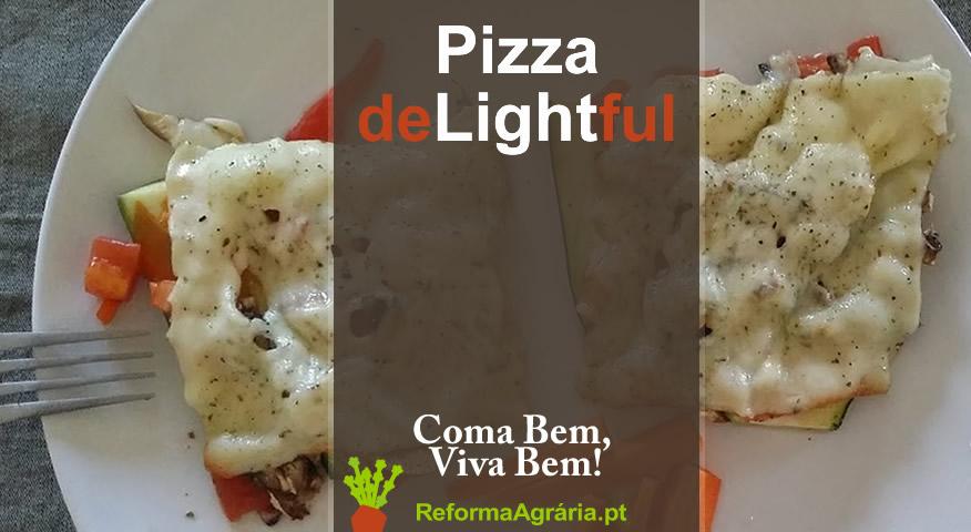 Receita de Pizza Light   Reforma Agrária