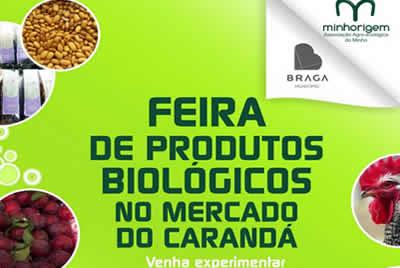 Feira de Produtos Biológicos no Carandá