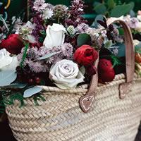 Cestos de Flores Naturais