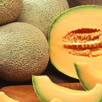 Meloas frescas