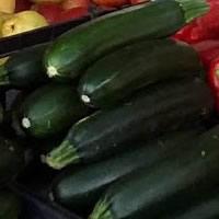 Courgettes frescas