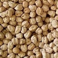 Grão-de-bico seco