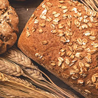 Pão com glúten
