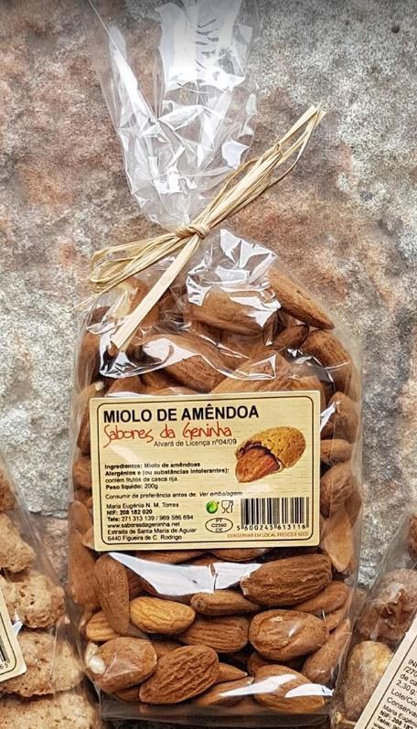Miolo de Amêndoas, emb. 200g