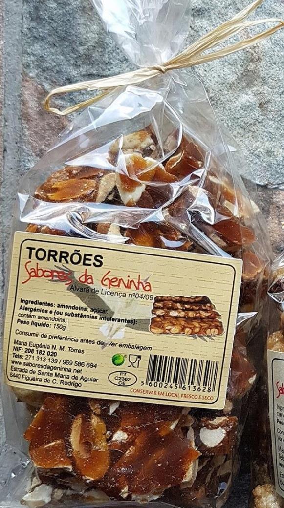 Torrões da Geninha, emb. 150g