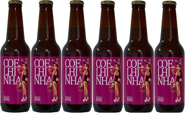Cerveja Artesanal Coelhinha - Tribo do Malte, Pack 6x33cl