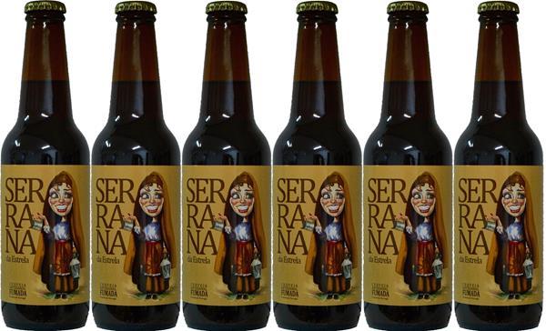 Cerveja Artesanal Serrana - Tribo do Malte, Pack 6x33cl