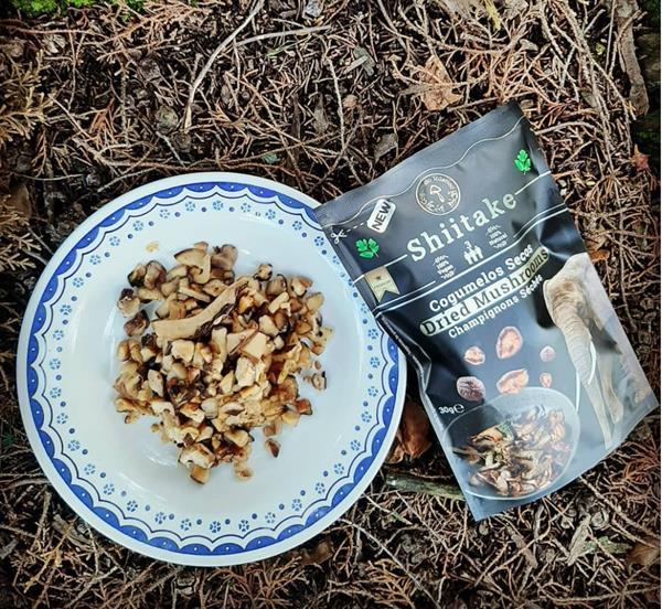 Cogumelos Shiitake Secos, emb. 30g