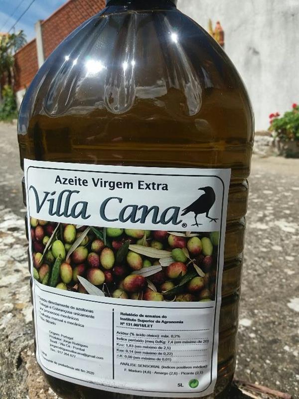 Azeite Extra Virgem 0.25% de acidez - garrafão de 5L