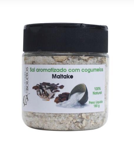 Sal Aromatizado com Cogumelos Maitake