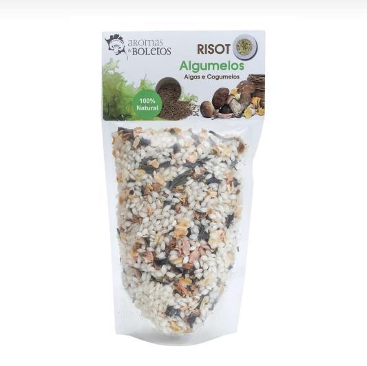 Risoto de Cogumelos e Algas