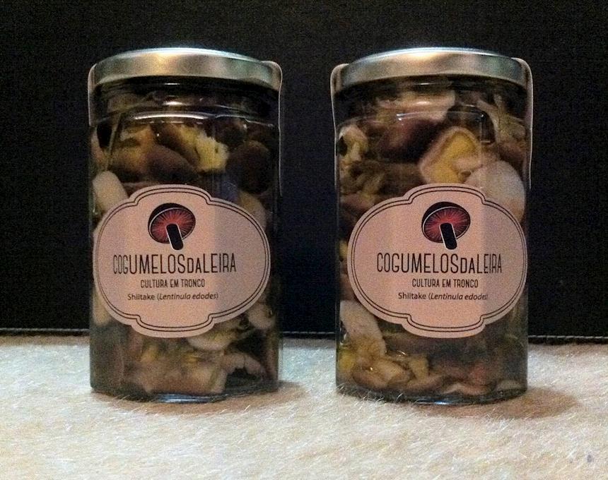Shittake Bio em Conserva de Azeite Aromatizado, emb. 300g