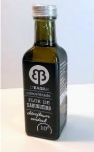 Refresco Concentrado de Flor de Sabugueiro (garrafa de 0,10L)