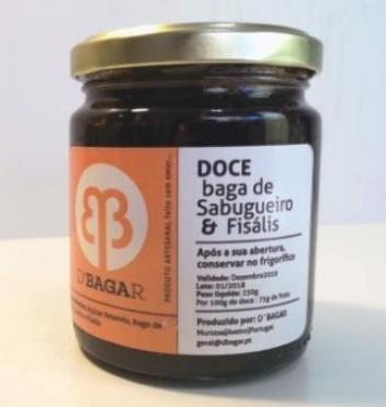 Doce de Baga de Sabugueiro e Fisális, 250g