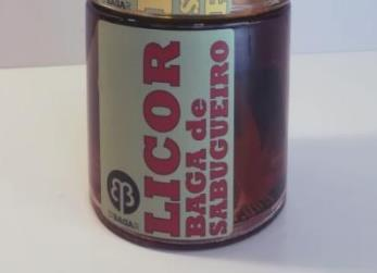 Licor Baga de Sabugueiro, 0,25 L