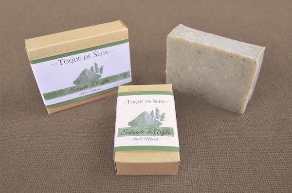 Sabonete de Argila 60gr 100% Natural