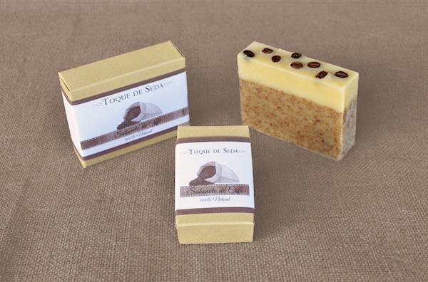 Sabonete de Café Esfoliante 60gr 100% Natural