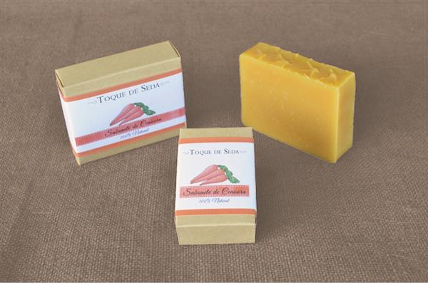 Sabonete de Cenoura 60gr 100% Natural