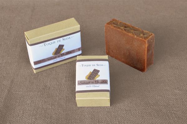 Sabonete de Chocolate 60gr 100% Natural