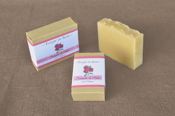 Sabonete de Rosa 60gr 100% Natural