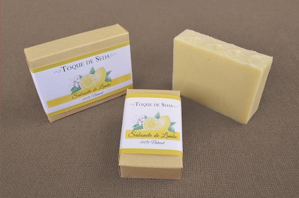 Sabonete de Limão 60gr 100% Natural