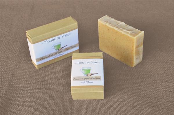 Sabonete de Karité e Chá Verde 60gr 100% Natural