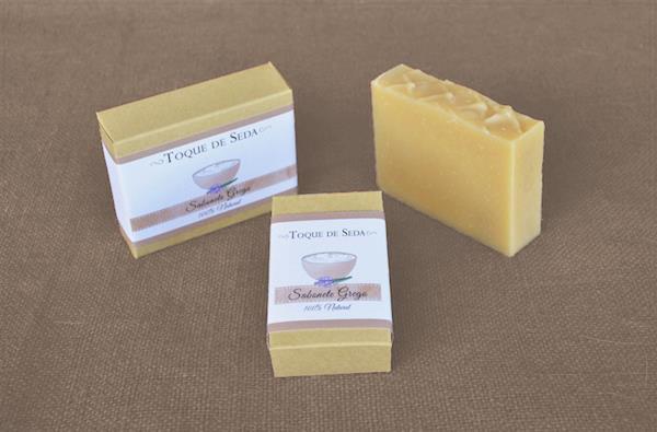 Sabonete Grego p/ Higiene Íntima Diária 60gr 100% Natural