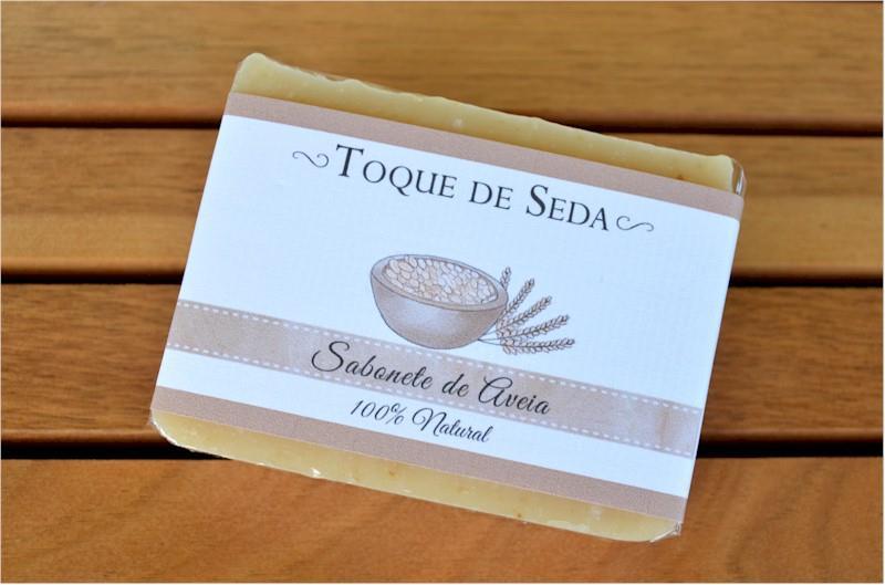 Sabonete de Aveia, Pele sensível 100% Natural