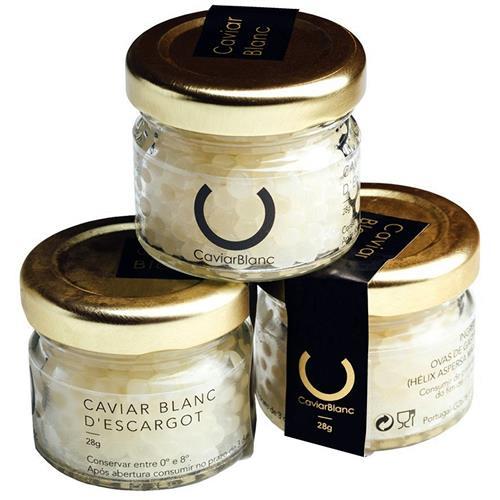 Caviar de Caracol | Caviar Branco