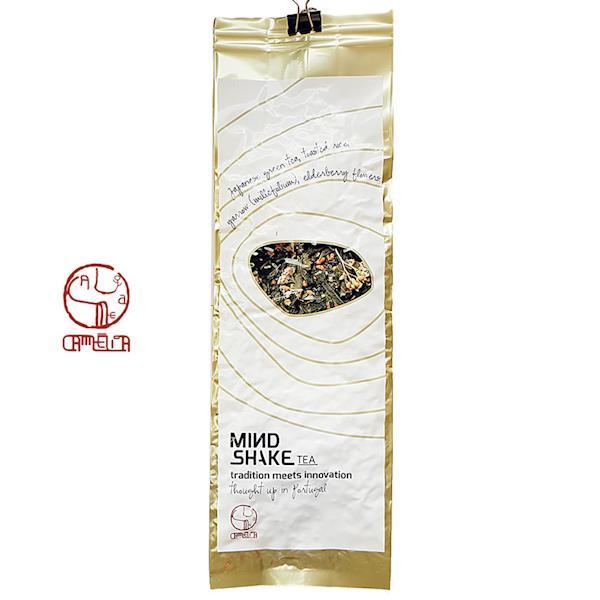 Mindshake Tea   Blend de Chá Verde c/ Aquilea e Flor de Sabugueiro