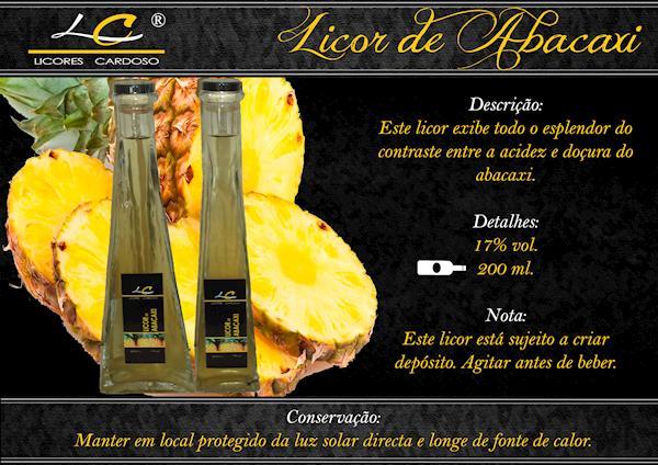 Licor de Abacaxi