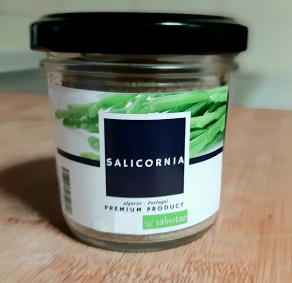 "Salicórnia desidratada - ""Sal Verde"""